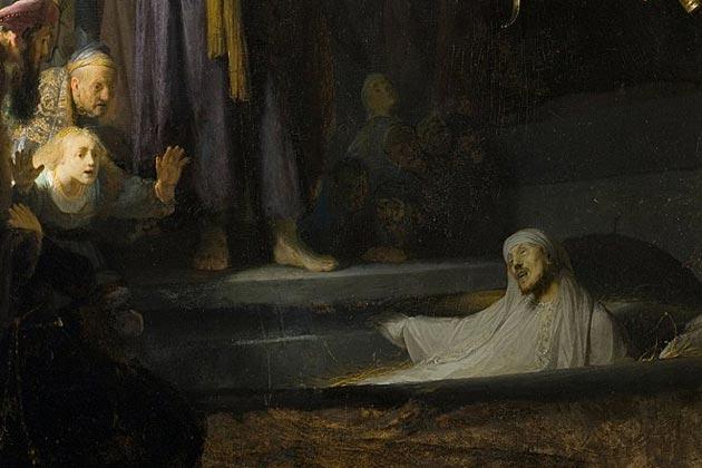 Rembrandt-Opwekking-van-Lazarus-fragment