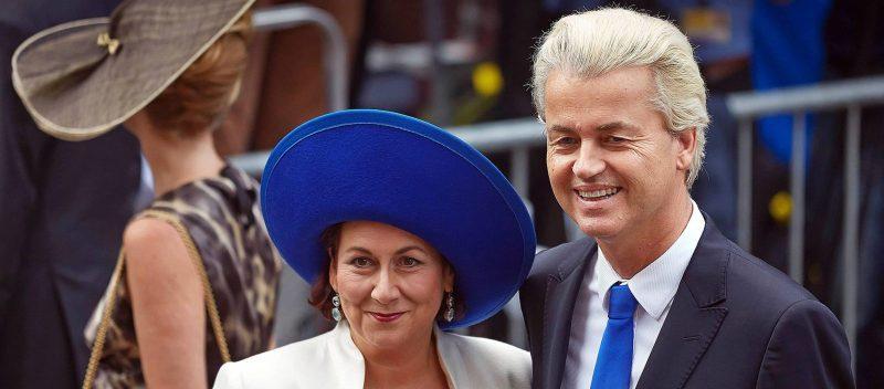 Geert Wilders en vrouw