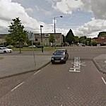 Google Streetview: Kruising Hoekenes - Pieter Calandlaan