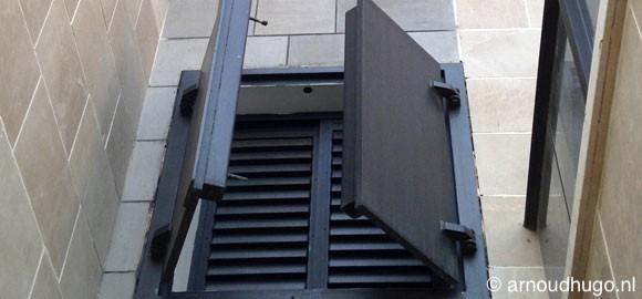 Veilige kamer van flat in Nahariya