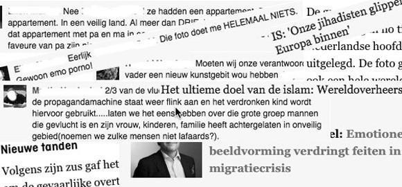 Vluchtelingen discussie op Facebook