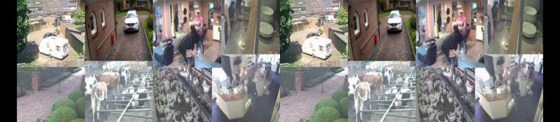 Beveiligingsbeelden bewakingscameras