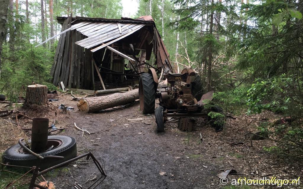 Autokerkhof Ryd, Zweden