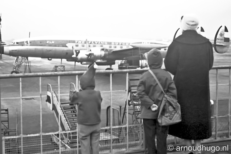 1957 Amsterdam Schiphol - Lockheed Super Constellation