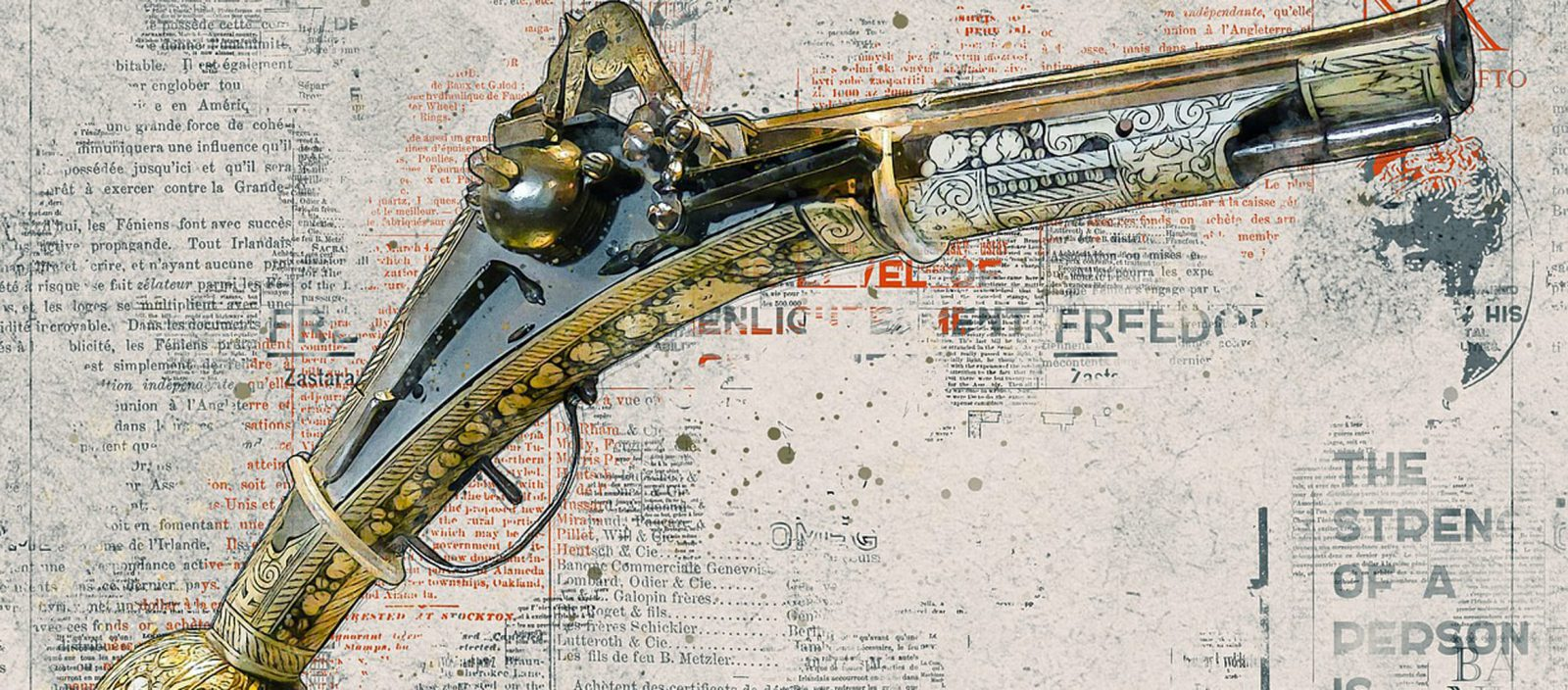 antiek pistool