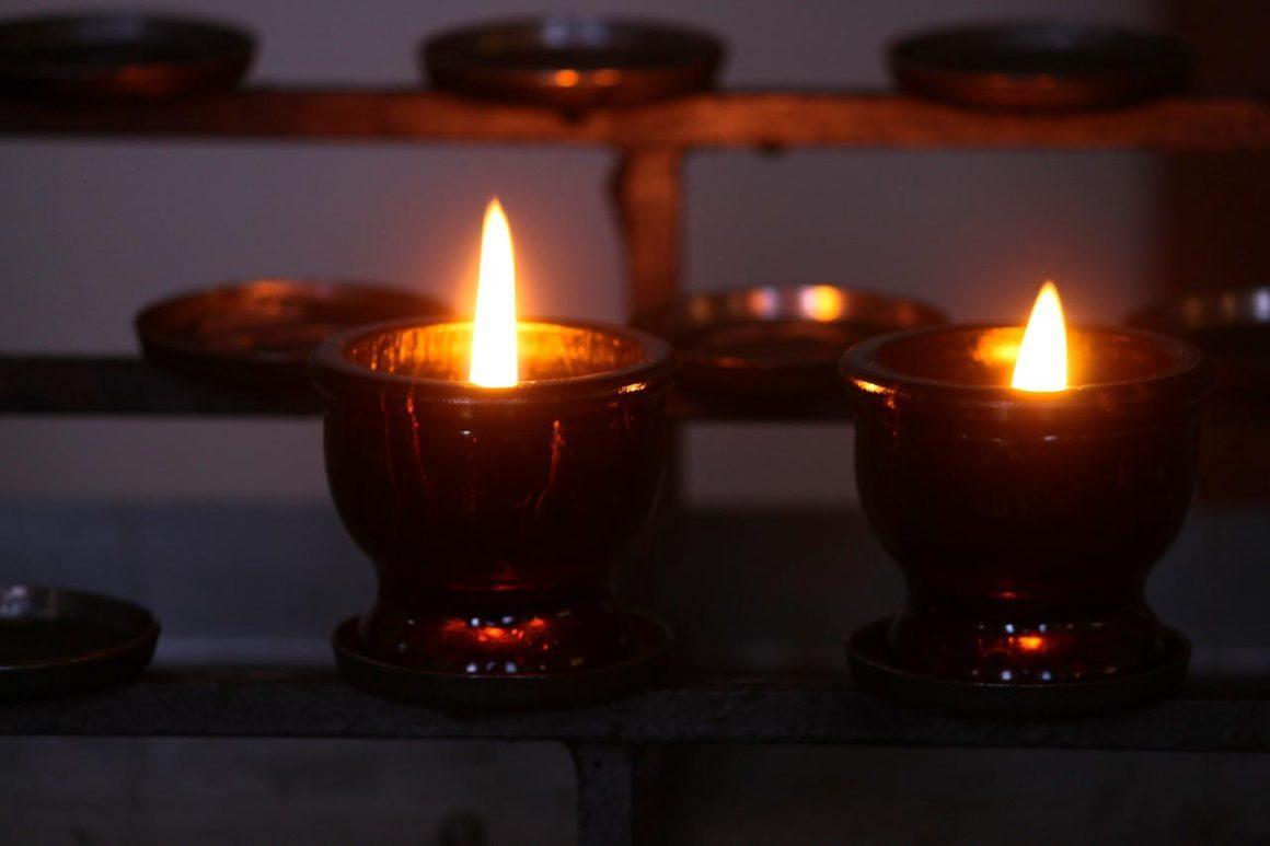 kaarsen herdenking