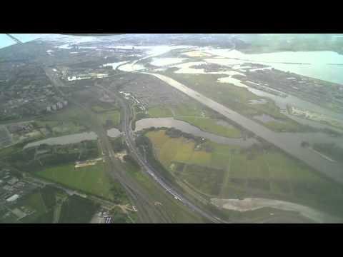Landing op Schiphol
