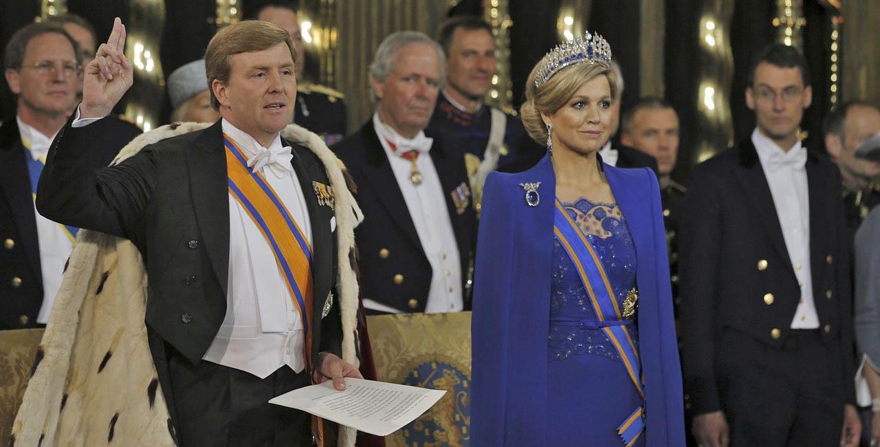 Koning Willem-Alexander D. Mark